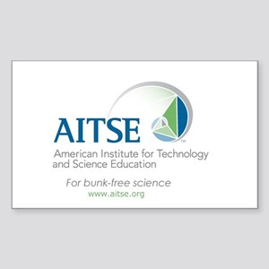 Promoting bunk-free science Sticker (Rectangle)