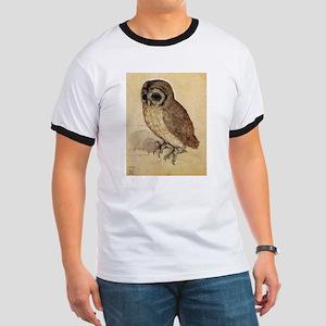 Durer The Little Owl Ringer T