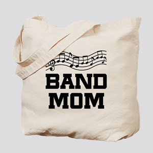 Band Mom Staff Tote Bag