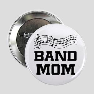 "Band Mom Staff 2.25"" Button"