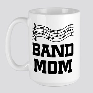 Band Mom Staff Large Mug