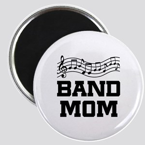 Band Mom Staff Magnet