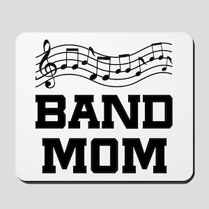 Band Mom Staff Mousepad
