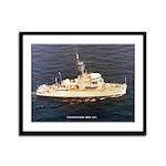 USS EXULTANT Framed Panel Print
