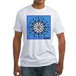 OYOOS Blue Moon design Fitted T-Shirt