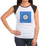 OYOOS Blue Moon design Women's Cap Sleeve T-Shirt