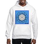 OYOOS Blue Moon design Hooded Sweatshirt