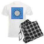 OYOOS Blue Moon design Men's Light Pajamas