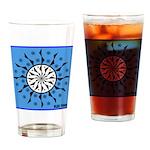OYOOS Blue Moon design Drinking Glass