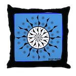 OYOOS Blue Moon design Throw Pillow