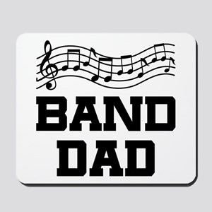 Band Dad Music Staff Mousepad