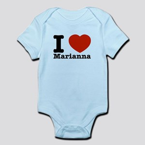 I Love Marianna Infant Bodysuit