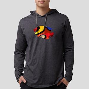 ANGEL COLORS Mens Hooded Shirt