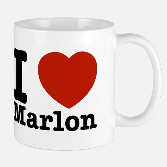 I Love Marlon Mug