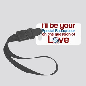 Love Rapporteur Small Luggage Tag