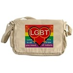 LGBT Marriage Messenger Bag