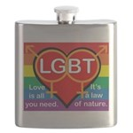 LGBT Marriage Flask
