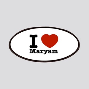 I Love Maryam Patches