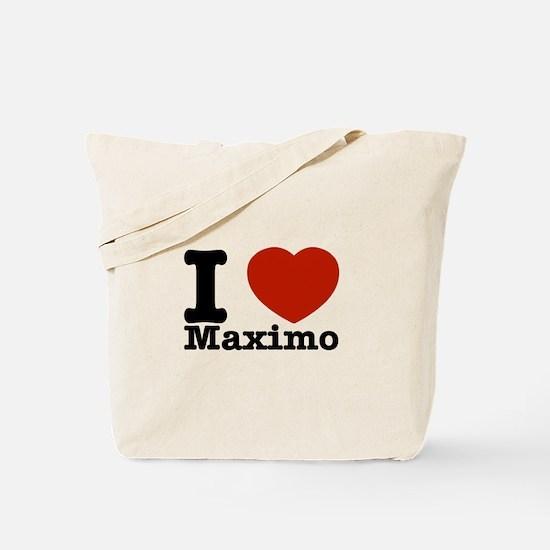 I Love Maximo Tote Bag