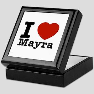 I Love Mayra Keepsake Box