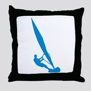 Windsurfer Windsurfing Throw Pillow
