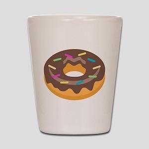 Donut Emoji Shot Glass