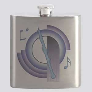 English Horn Deco 2 Flask