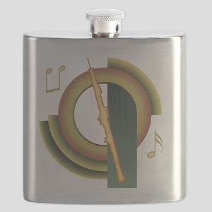 Oboe Deco Flask