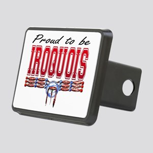Proud to be Iroquois Rectangular Hitch Cover