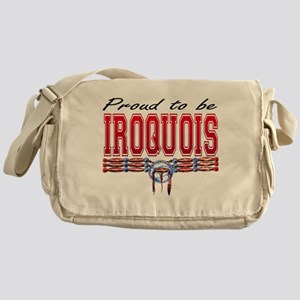 Proud to be Iroquois Messenger Bag