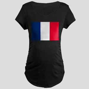 France Maternity Dark T-Shirt