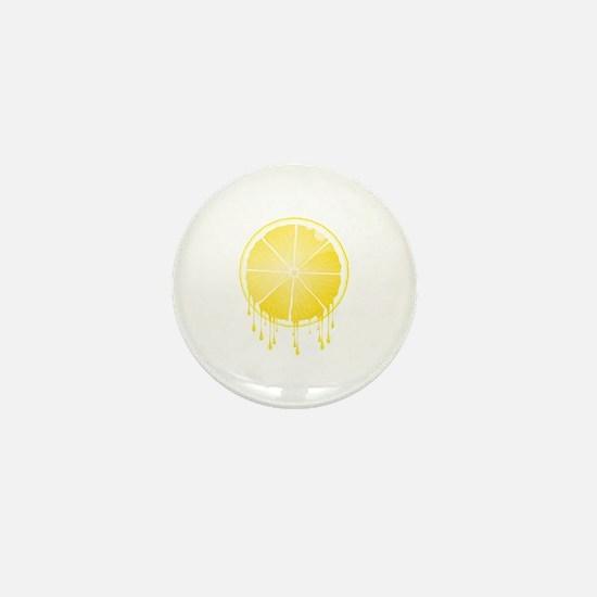 Lemon Mini Button