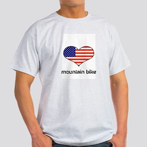LOVE MOUNTAIN BIKE STARS ANS STRIPES Light T-Shirt