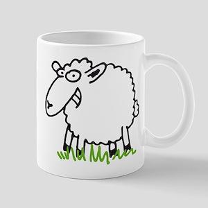 grinning sheep Mug