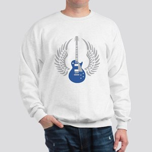 e-guitar wings Sweatshirt