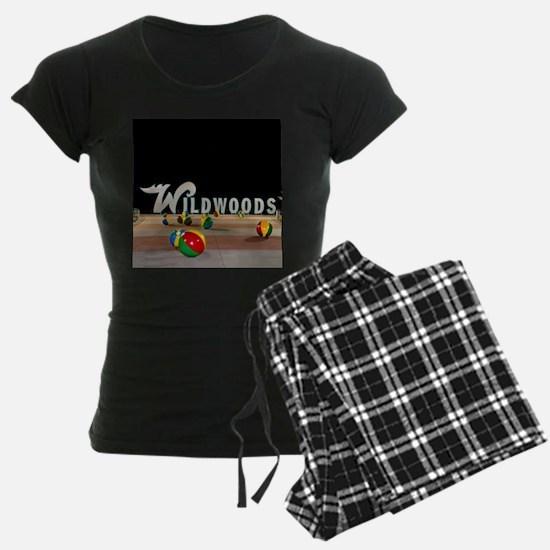 Wildwoods Sign Wildwood New J Pajamas
