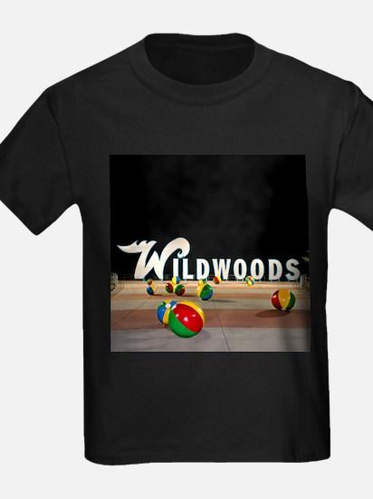 Wildwoods Sign Wildwood New Jersey T-Shirt