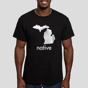 MInative Men's Fitted T-Shirt (dark)
