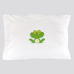 Frog Pillow Case