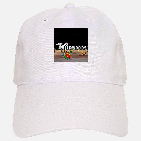 Wildwoods Sign Wildwood New Jersey Baseball Baseball Cap