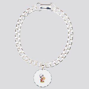 Chicken Charm Bracelet, One Charm