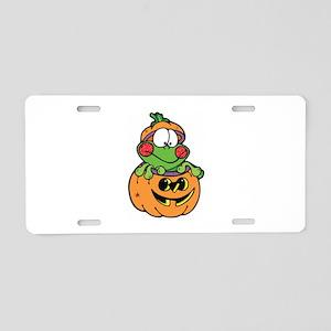 Frog Aluminum License Plate