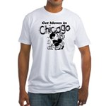Blown in Chicago Fitted T-Shirt