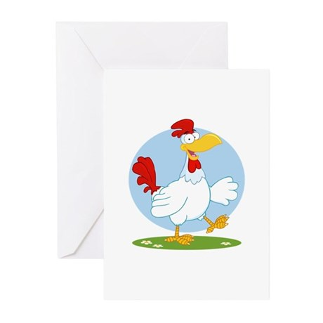 Chicken Greeting Cards (Pk of 10)