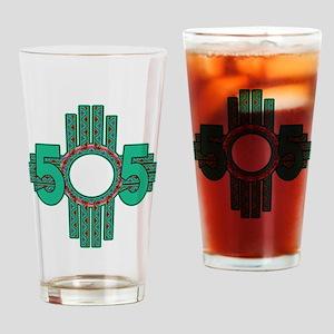 NATIVE 505 ZIA Drinking Glass