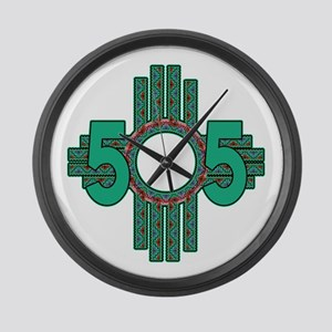 NATIVE 505 ZIA Large Wall Clock