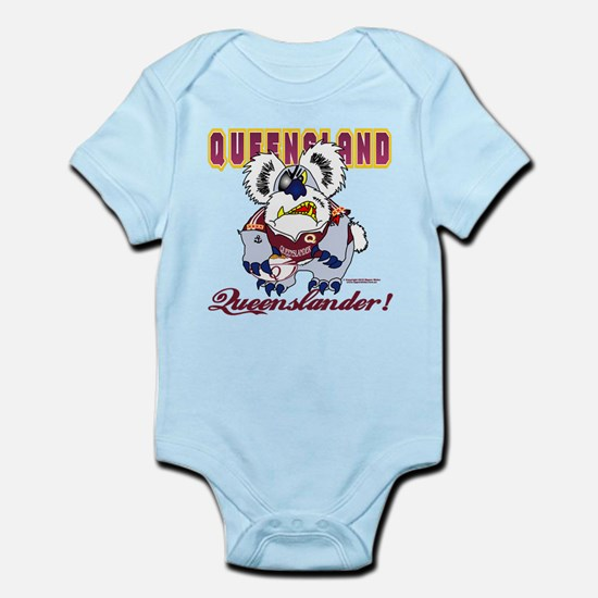 QLD SUPPORTERS Infant Bodysuit