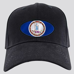 Virginia State Flag Black Cap