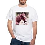 Horse's Head #1 Woman's White T-Shirt