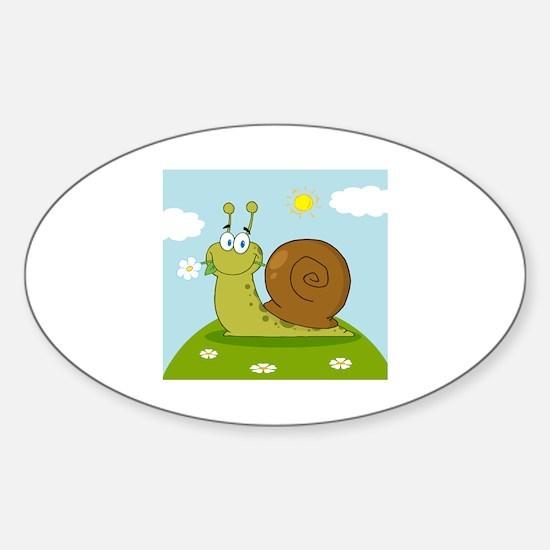 Snail Sticker (Oval)